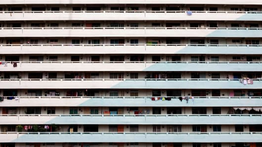 A Singapore public housing estate