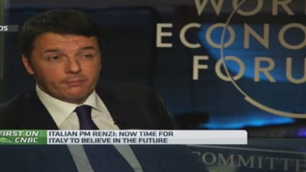 Time to believe in the future: PM Renzi