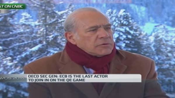 Gurría on ECB QE: 'Just do it already'