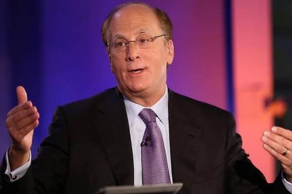 BlackRock CEO: All signs point to stocks going higher