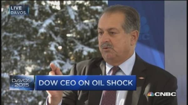 Dow Chemical CEO: Oil headed north of $45