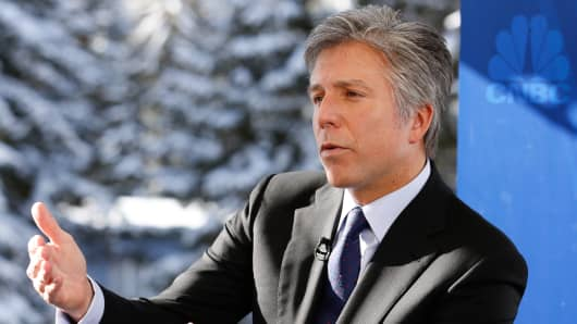 Bill McDermott, CEO of SAP at the 2015 WEF in Davos, Switzerland.