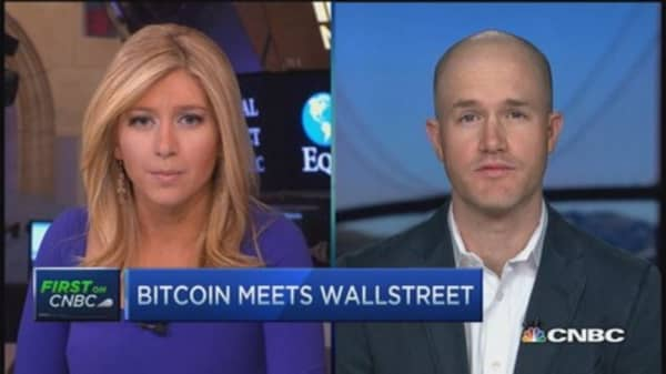 Bringing bitcoin to Wall Street