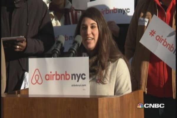 Airbnb fight heats up