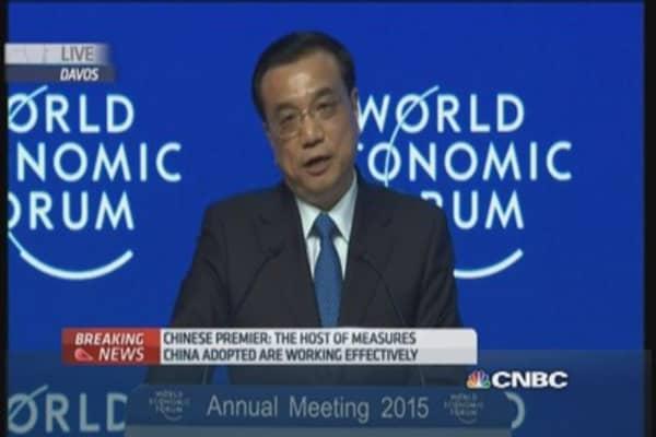 China Premier discusses economic reforms