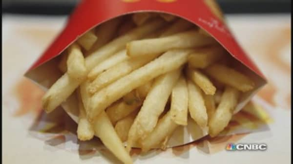 Are McDonald's fries made out of potatoes?