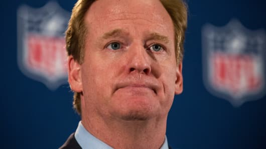 National Football League Commissioner Roger Goodell has faced his share of controversies this year. But the league roars on.