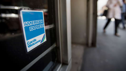 American Express Shares Rise After Company Beats Expectations