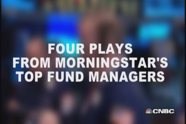 Four plays from Morningstar's top fund managers