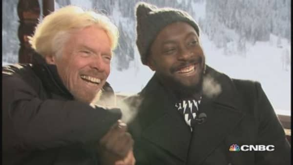 Face to face: Richard Branson and will.i.am