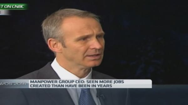 Europe job recovery will be 'slow': Manpower Group