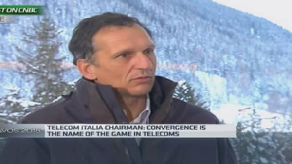 It's all about 'convergence': Telecom Italia boss