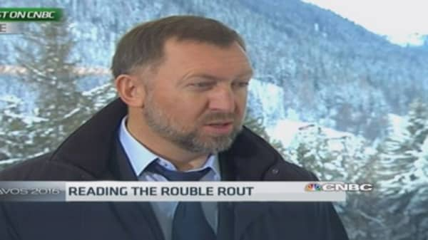 Rusal's Deripaska: I don't see stabilization