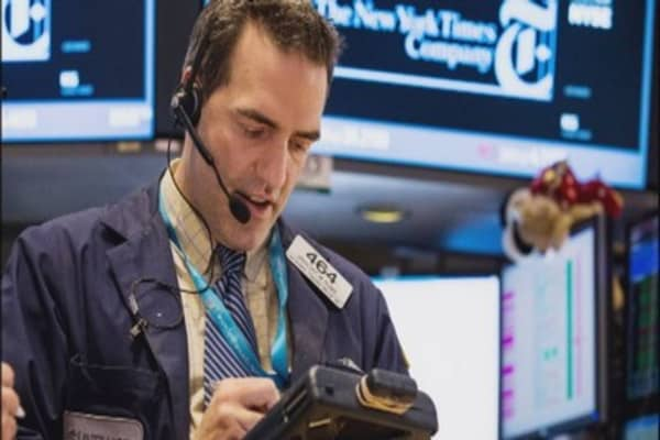 Wall Street on rare winning streak