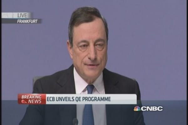 ECB QE will be effective: Draghi