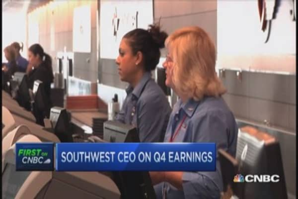 Southwest's monumental Q4
