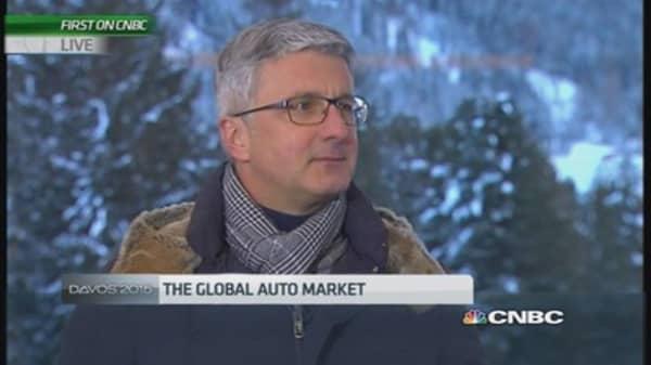 Audi: The 'new kid on the block'