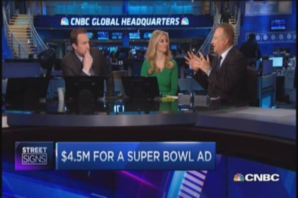 Nadal: $14.9 billion going into Super Bowl advertising