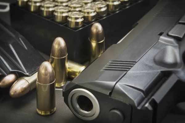 Pistol and ammunition