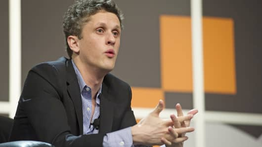 Box co-founder and CEO Aaron Levie speaks at the South by Southwest Interactive Festival in Austin, Texas, on March 10, 2014.