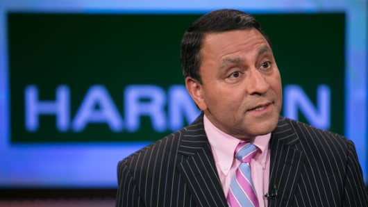 Dinesh Paliwal, CEO of Harman.