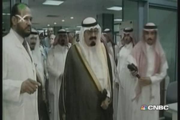 Saudi King Abdullah dies