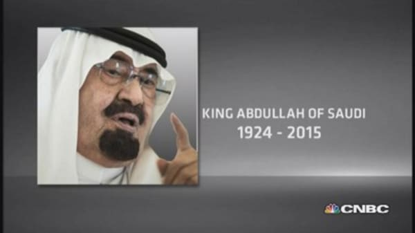Saudi's King Abdullah has passed away at 90
