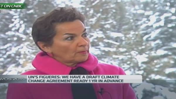 We're optimistic on climate change: UN