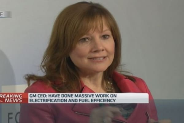 GM's Barra: We're seizing opportunities