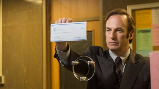"A scene from ""Better Call Saul."""