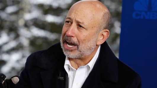Lloyd Blankfein, CEO, Goldman Sachs Group