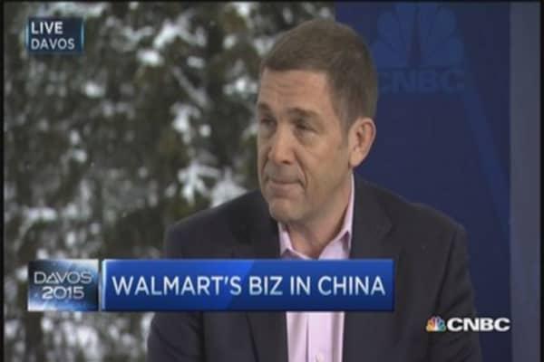Walmart CEO: Building a world class network
