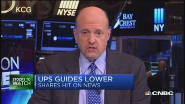 Cramer: UPS lost its way
