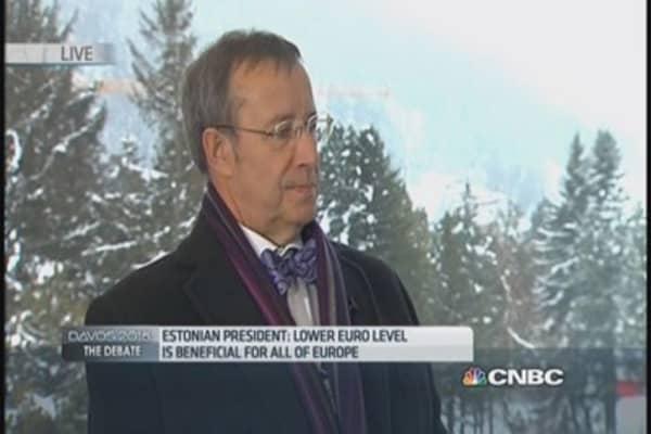 Russia won't take action in Baltics: Estonia President