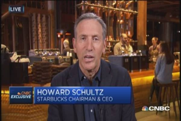 Starbucks CEO: Set up for excellent year