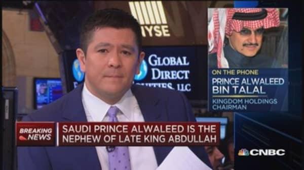 Saudi Prince Alwaleed: Yemen in complete turmoil