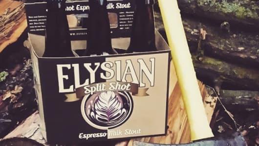 Elysian Brewing Split Shot beer