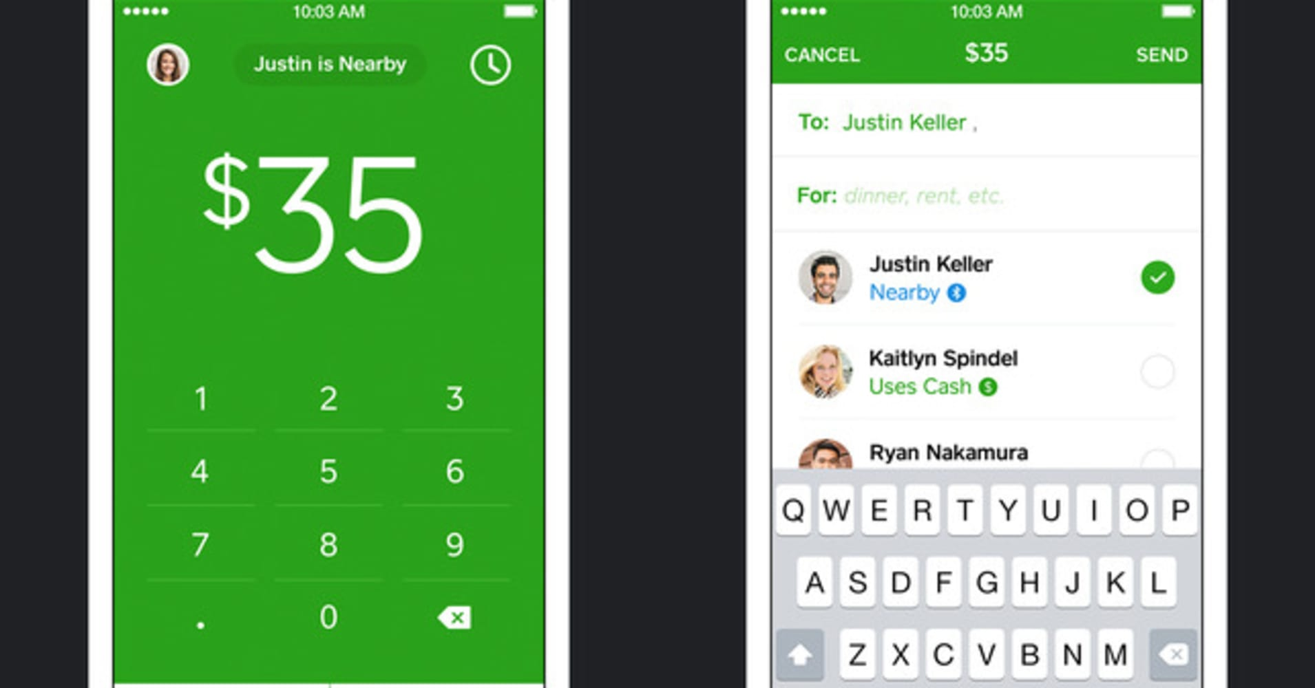 Cash App Interface
