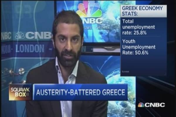 Greek economy deteriorating