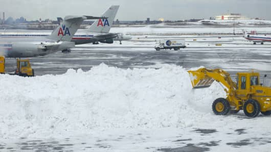Travelers are bracing for major delays and cancellations. (2010 file photo)