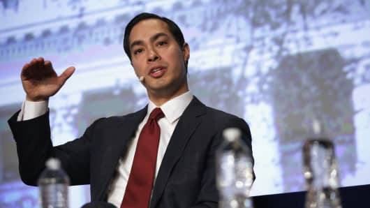 Secretary of Housing and Urban Development Julian Castro.