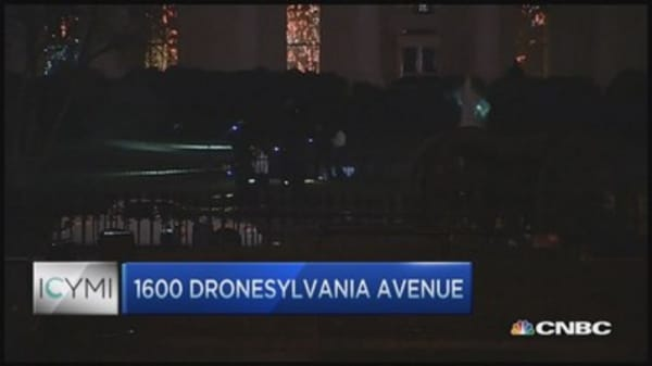 Drone crashes on White House grounds
