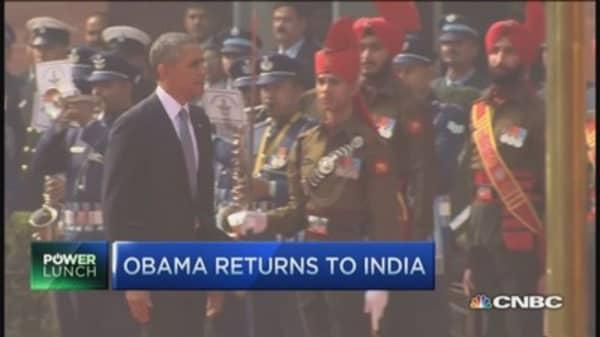 Obama returns to India