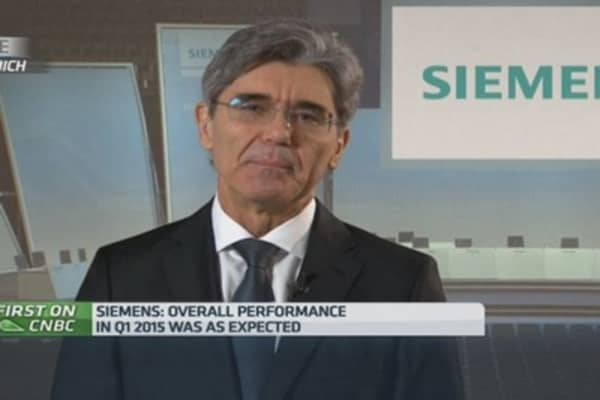 Dresser-Rand deal makes sense with low oil: Siemens CEO