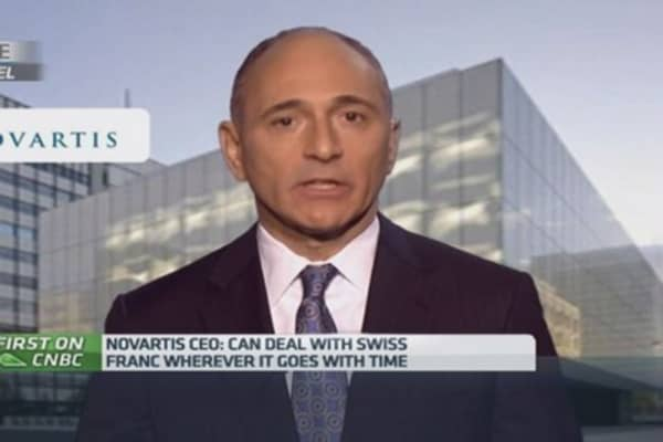 We're looking for bolt-on acquisitions: Novartis CEO