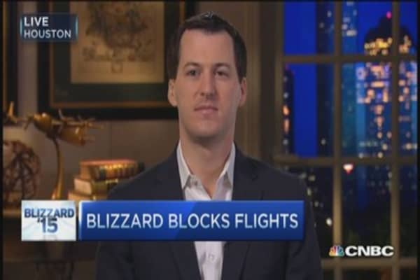 Airlines got ahead of storm: FlightAware CEO