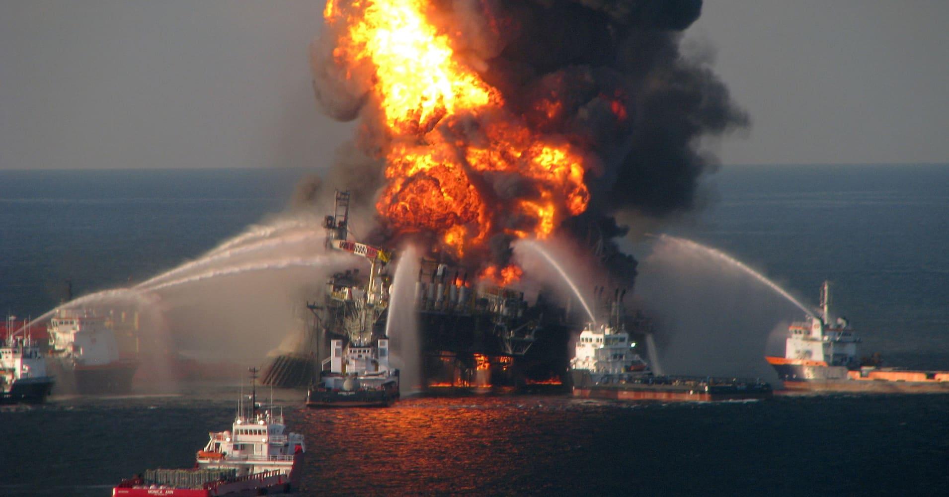 BP to take $1.7B Deepwater Horizon charge
