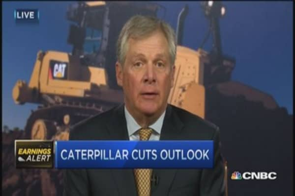 Caterpillar CEO to Fed: Don't raise rates