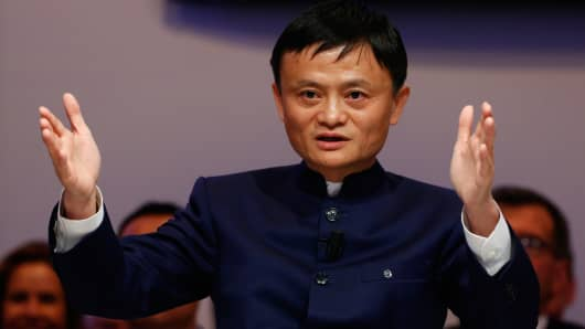 Jack Ma dethroned as China's richest man