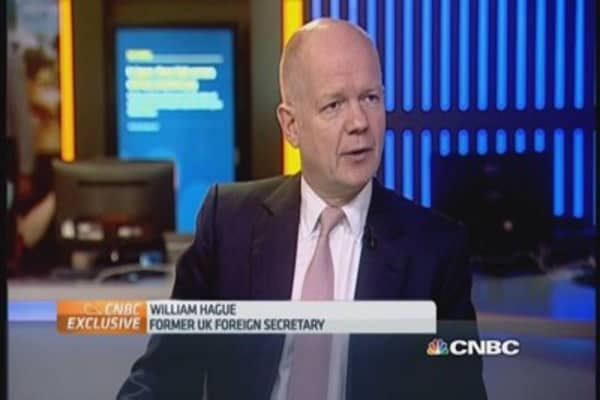Hague: Putin's 'sphere of influence'